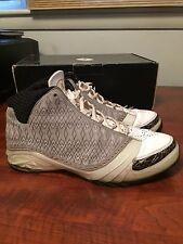 2008 Nike Air Jordan 23 XX3 Retro White/Stealth/Gold Size 11 Preowned