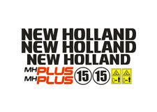 Sticker, aufkleber, decal - New Holland MH PLUS