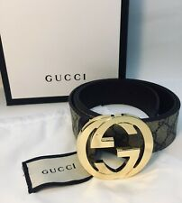 Gucci GG leather belt new in box size 95-38 Men SALE ORIGINAL