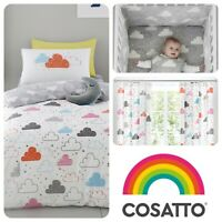 Cosatto FAIRY CLOUDS Baby Sleeping Bag Duvet Cover Set Fitted Sheets Toddler