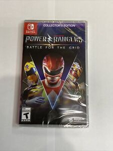 Power Rangers: Battle for the Grid Collector's Edition Nintendo Switch NEW