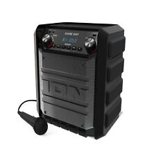 Ion Game Day Bluetooth Portable Speaker for Picnic, Tailgater- 50 Hour Battery