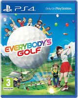 Everybodys Golf (PS4) (NEU & OVP) (Blitzversand)