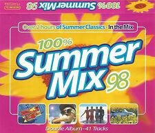 SUMMER MIX 98 n-trance aqua lauper  2X CASSETTE 41track Latin, Ragga, House, Pop