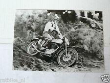 C VICTOR LELOUP FN EK 1952 MX MOTOCROSS VINTAGE POSTCARD MOTO 01-01