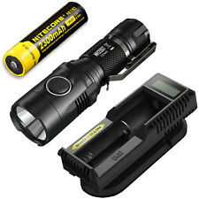 Nitecore MH20GT Rechargeable Flashlight w/ NL183 Battery & UM10 Charger