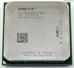 AMD FX 4300 Black Edition 3.8Ghz AM3(+)
