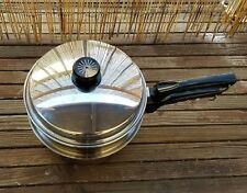Cutco 3 Quart Sauce 5 Ply Pan Set & Steamer Insert USA