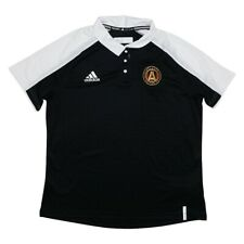 14a94be9d94 Atlanta United FC MLS Women's Sideline Climalite Perf. Black Polo Shirt ...