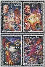 LAOS N°293/ 296** Espace,  TB, 1975,  Space set MNH
