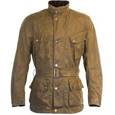 Richa Bonneville Textile Wax Cotton Armoured Motorcycle Jacket - Sand