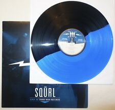 Squrl - Rare Black & Blue Colored LP Live at Third Man Records TMR