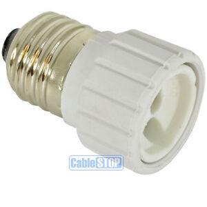 E27 Edison Screw to GU10 Light Bulb Fitting Lamp Converter Lamp Connector
