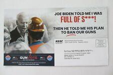 Trump 2020 Political Campaign Postcard-Western PA Dist.-Joe Biden Will Ban Guns