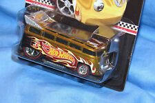 Hot Wheels 2011 VW T1 Drag Bus Volkswagen K-mart Mail In RLC Gold Flamed 1/64