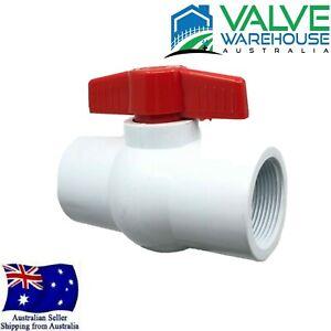 PVC BALL VALVE - THREADED - BSP - ERA - Australian Standard No. WMKA25603