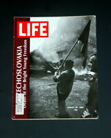 LIFE MAGAZINE AUGUST 30 1968 SOVIET INVASION