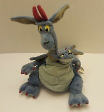 "Warner Bros Devon & Cornwall Two Headed Dragon Plush Quest For Camelot 10""  (P8)"