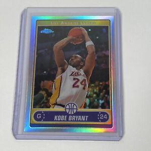 2006-07 Topps Chrome #129 Kobe Bryant REFRACTOR Rainbow Lakers HOF MINT INVEST