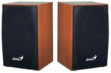 Genius - 31731063101 - Sp-hf160 2.0 Pc Speakers 4w - Usb Powered, Wood