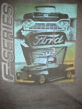 Ford F Series Pick Up Trucks Newport Blue T Shirt Sz M Classic Automotive PickUp