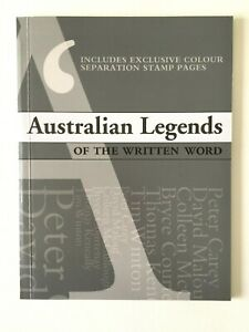 MAD42) Australia 2010 Australia Legends - The Written Word Prestige Booklet