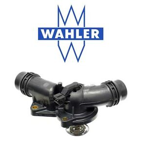 Thermostat with Housing & Gasket 97 deg. C OEM WAHLER For BMW E39 E46