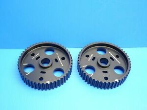 NEW 85-95 PORSCHE 928 S4 GT GTS TIMING CAM GEARS CAMSHAFT SPROCKET PULLEY PAIR