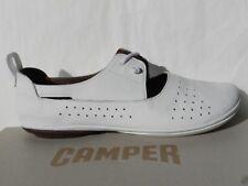 Camper Right Nina Chaussures Femme 40 Ballerines Blanc Slip on K200441 Neuf UK7