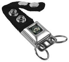 Key Chain Ring Car Lanyard Holder SUPER BEE Logo Black Gray Yellow White