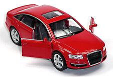 NEU: Audi A6 Limousine Sammlermodell 1:38 rot Neuware von KINSMART