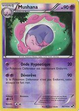 Mushana Reverse- Noir et Blanc - 49/114 - Carte Pokemon Française Neuve