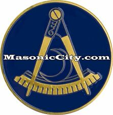 A-314 Masonic Auto Emblem FreeMasonry Car Lodge Mason Freemason PHA