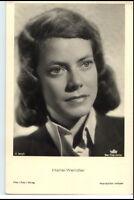 ~ 1950/60 Porträt-AK Film Bühne Theater Schauspielerin HANSI WENDLER Foto-Verlag