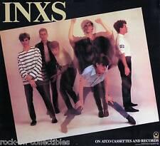 INXS 1984 Original Vintage ATCO Records Promo Poster