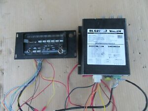 whelen mpc01 multi purpose controller with BL 627  Amplifier