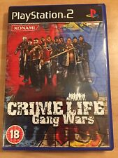 CRIME LIFE GANG WARS for SONY PS2 PLAYSTATION 2 RARE & COMPLETE by Konami
