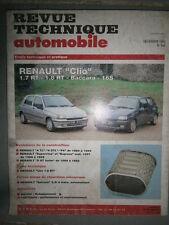Renault CLIO 1.7 1.8 + baccara 16S : revue technique RTA 546