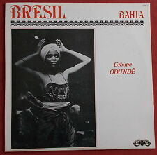 GROUPE ODUNDE   LP ORIG FR ONLY  BAHIA  AFRO LATIN  DISCOVALE