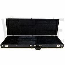 Bad Lock - Non-Branded Black Electric Bass Hard Case Fits: Fender Precision Bass