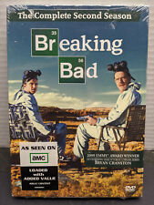 Breaking Bad: The Complete Second Season DVD 2010 4-Disc Set NEW sealed Season 2