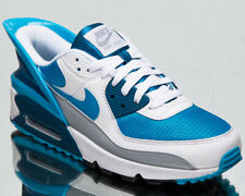 Nike Air Max 90 FlyEase Men's White Laser Blue Athletic Lifestyle Sneakers Shoes