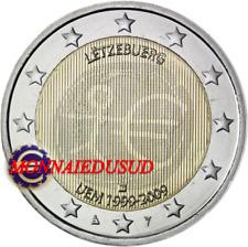 2 Euro Commémorative Luxembourg 2009 - 10 Ans de l'Euro EMU
