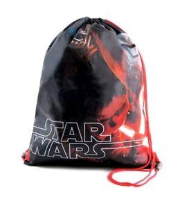 Disney Star Wars The Force Awakens Drawstring Gym Bag, Multi