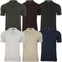 Brave Soul Men's 'Columbus' Knitted Polo Shirt