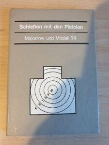Schießen mit den Pistolen Makarow Modell 74 , DDR  , MdI 1986