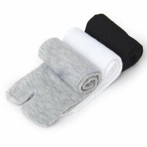 3Pair Socks Japanese Kimono Socks Flip Flop Sandal Split Toe Tabi Ninja-Geta HOT