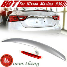 IN STOCK USA 2016 Painted For Nissan Maxima A36 8th OE Trunk Spoiler SL SV #K23