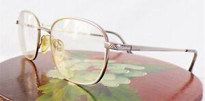 Luxottica Silver Titanium 1028 Eyeglass Frames 52[]18-140 Italy Vintage?