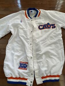 Vintage Rare 1980's Cleveland Cavaliers Champion Windbreaker Jacket Size 48